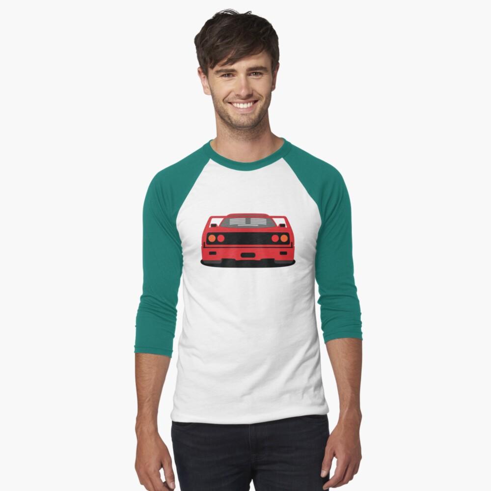 Ferrari F40 3/4 Sleeve Baseball T-shirt