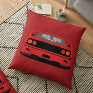Ferrari F40 Floor Pillow