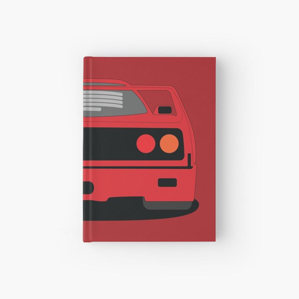 Ferrari F40 Harcover Journal