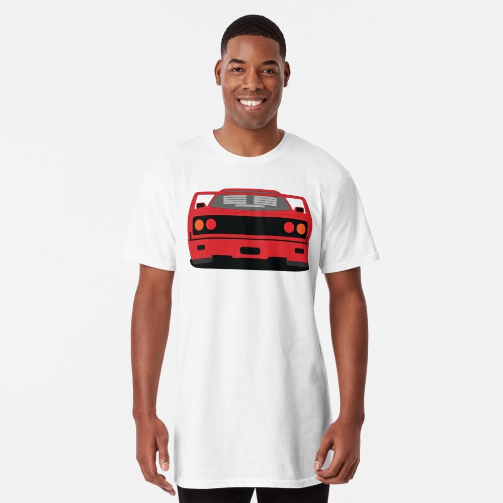 Ferrari F40 Long T-shirt