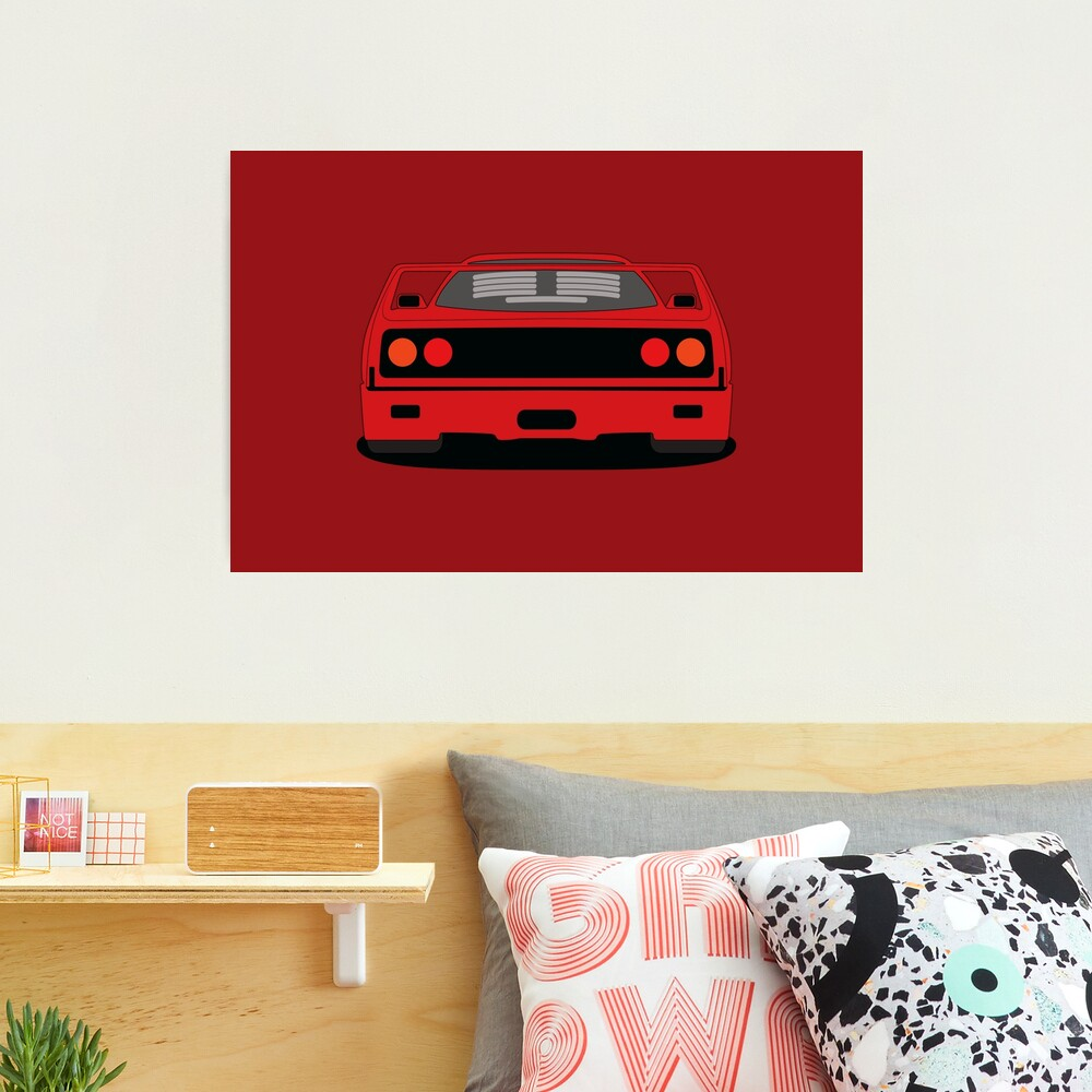 Ferrari F40 Photographic Print
