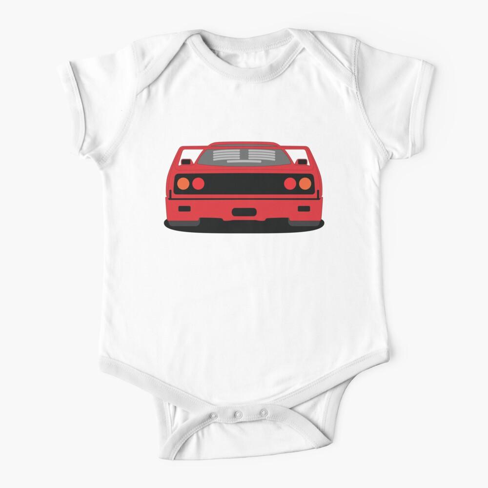 Ferrari F40 Short Sleeve Baby One Piece