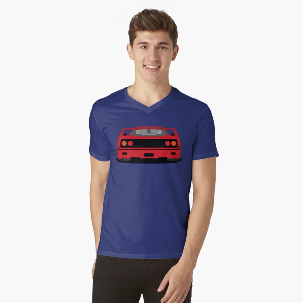 Ferrari F40 V Neck T-shirt
