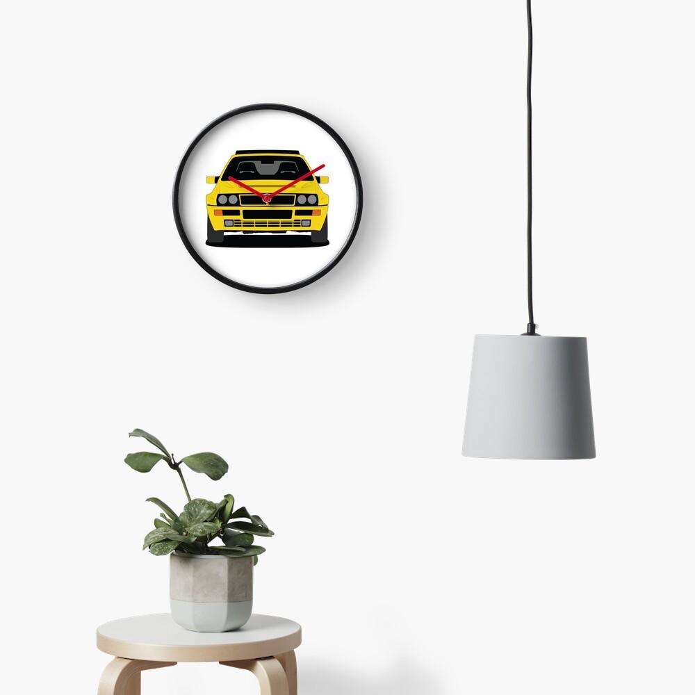 Lancia Delta HF Integrale Wall Clock