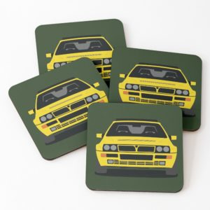 Lancia Delta HF Integrale Coasters