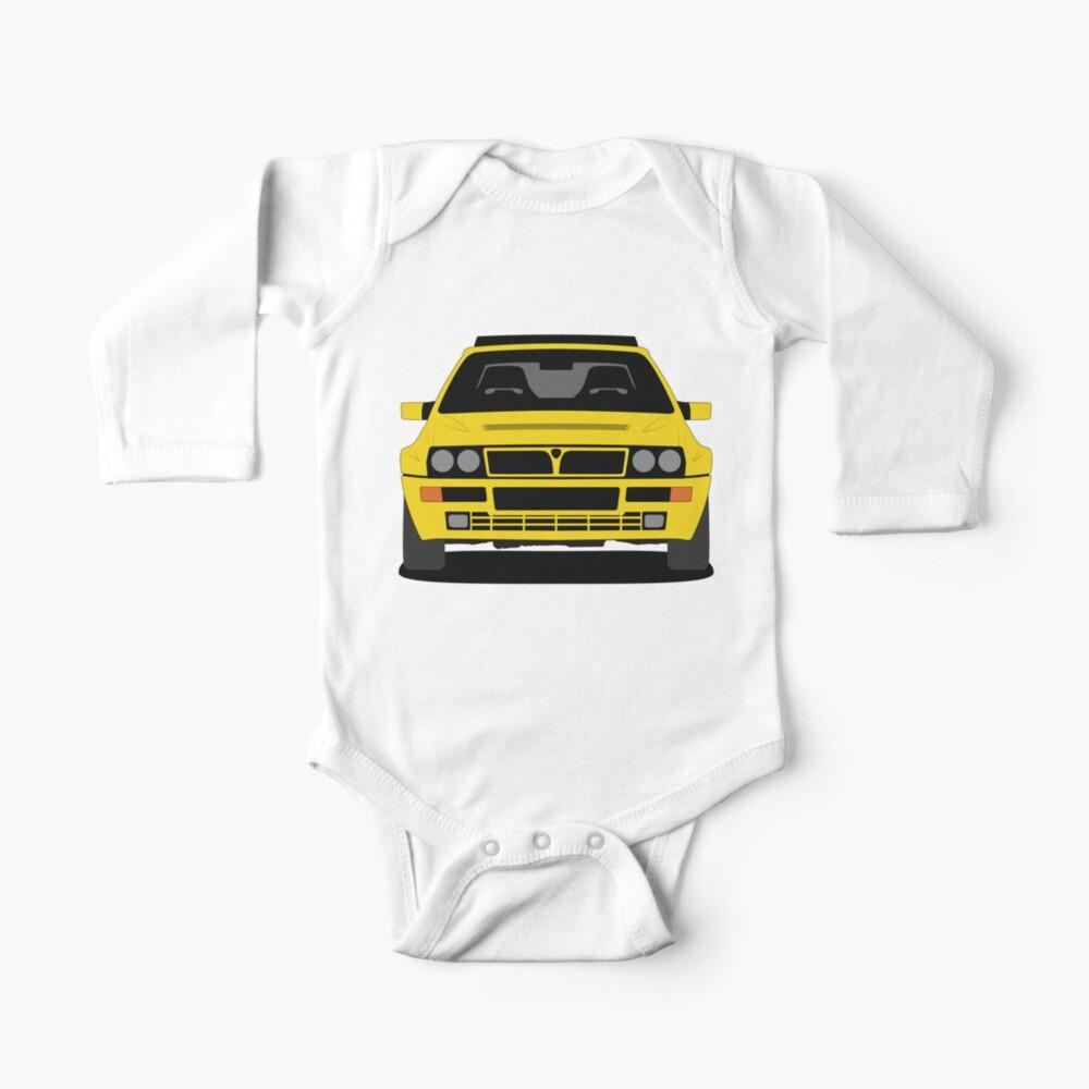 Lancia Delta HF Integrale Long Sleeve Baby One Piece