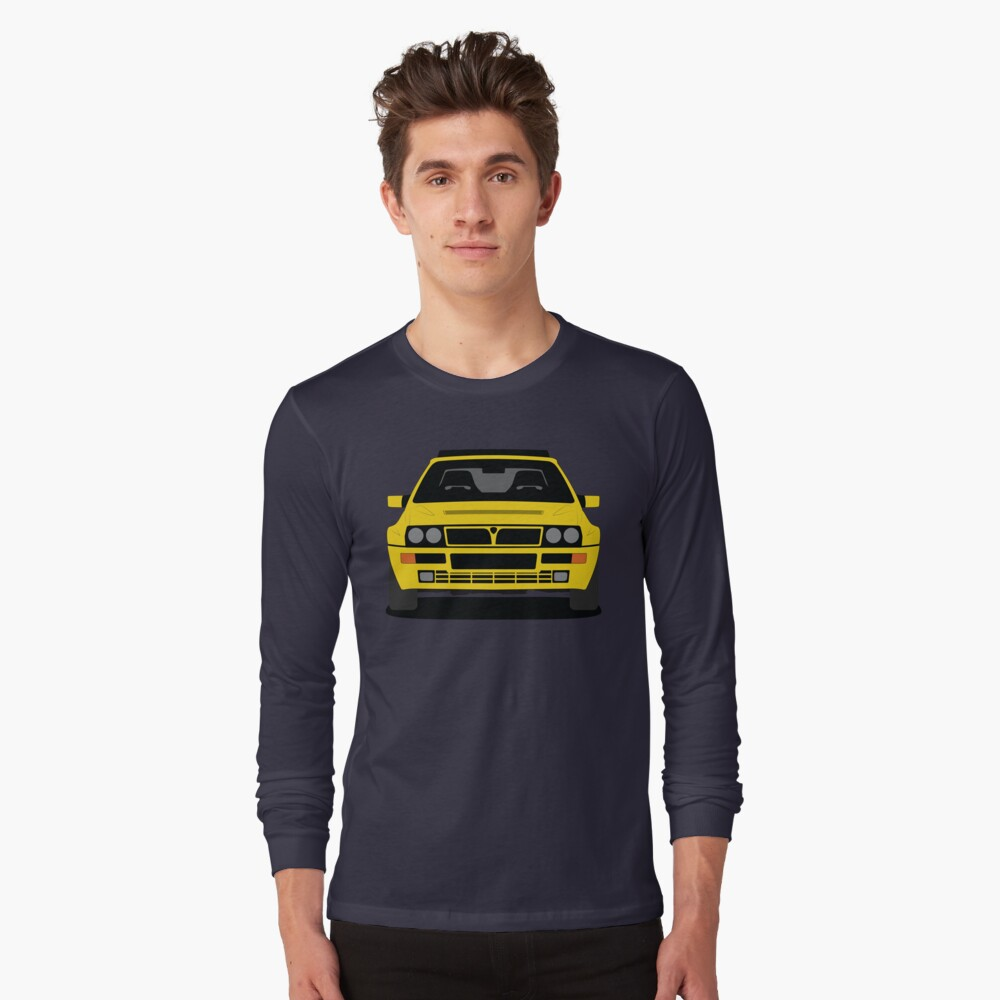 Lancia Delta HF Integrale Long Sleeve T-shirt
