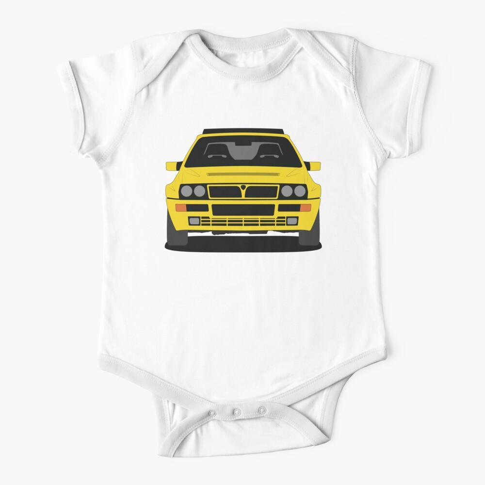 Lancia Delta HF Integrale Short Sleeve Baby One Piece
