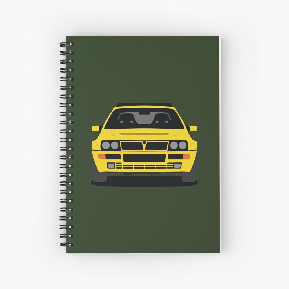 Lancia Delta HF Integrale Spiral Notebook