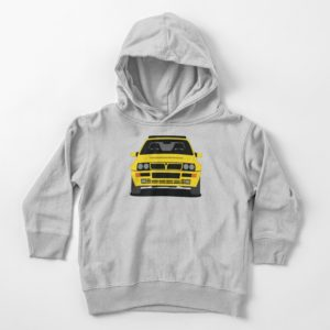 Lancia Delta HF Integrale Toddler's Pullover Hoodie