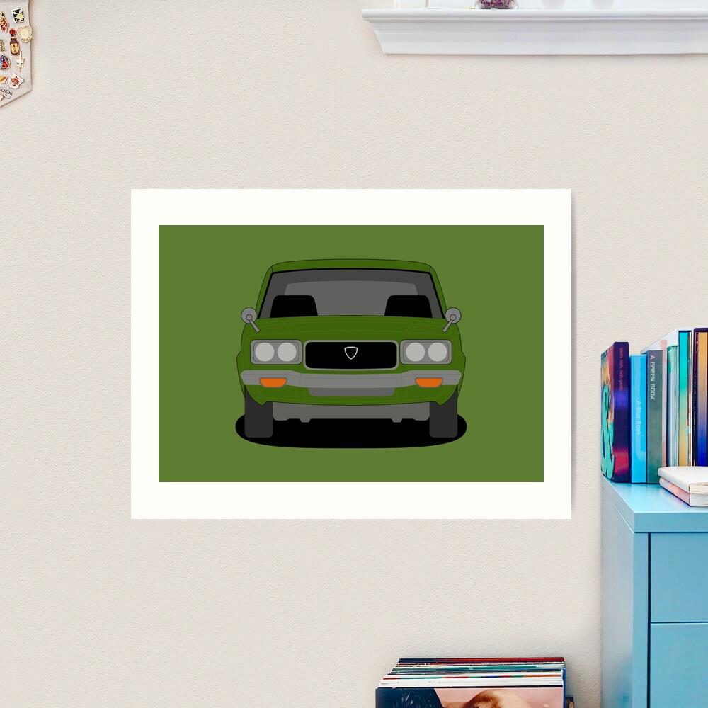 Mazda RX3 Art Print