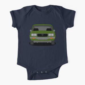 Mazda RX-3 Short Sleeve Baby One Piece