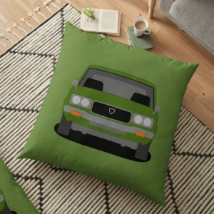 Mazda RX-3 Floor Pillow
