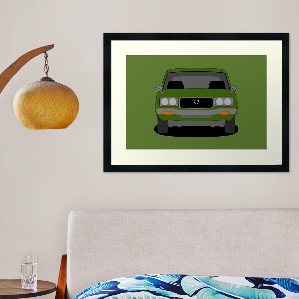 Mazda RX3 Framed Art Print