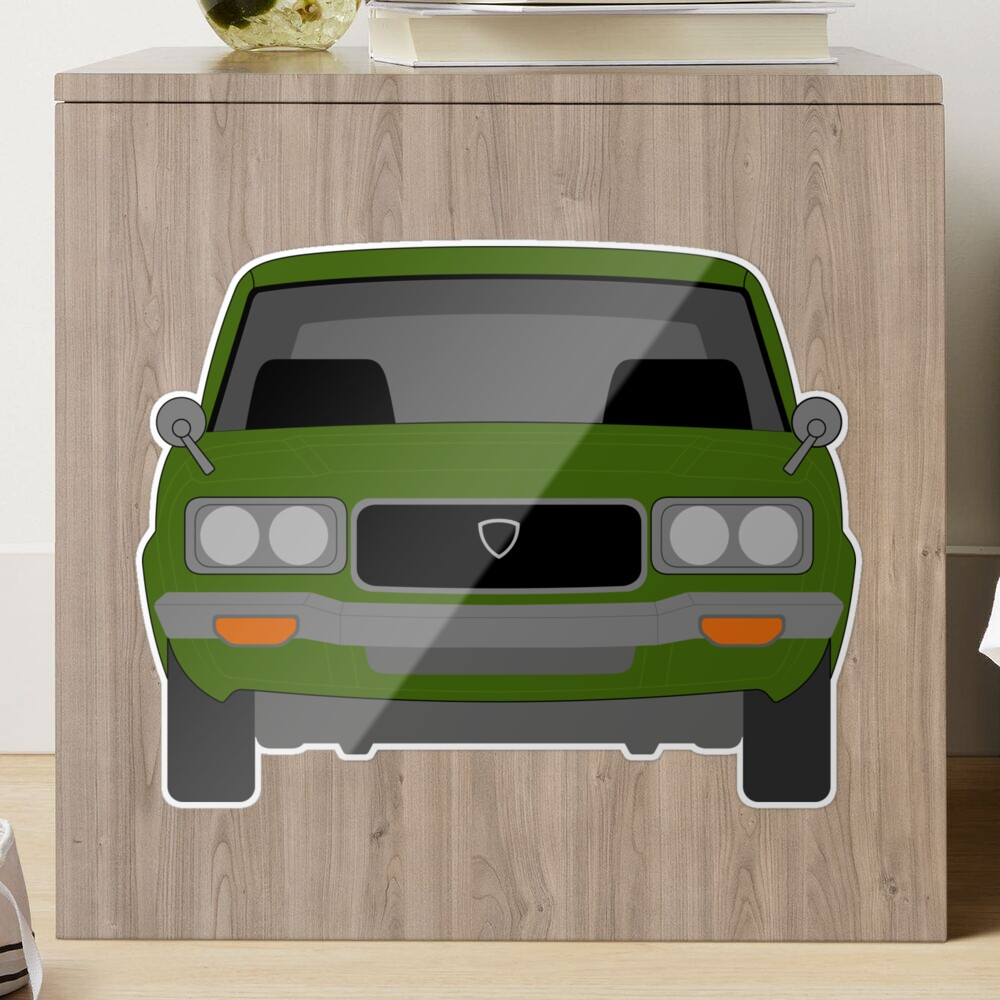 Mazda RX-3 Glossy Sticker