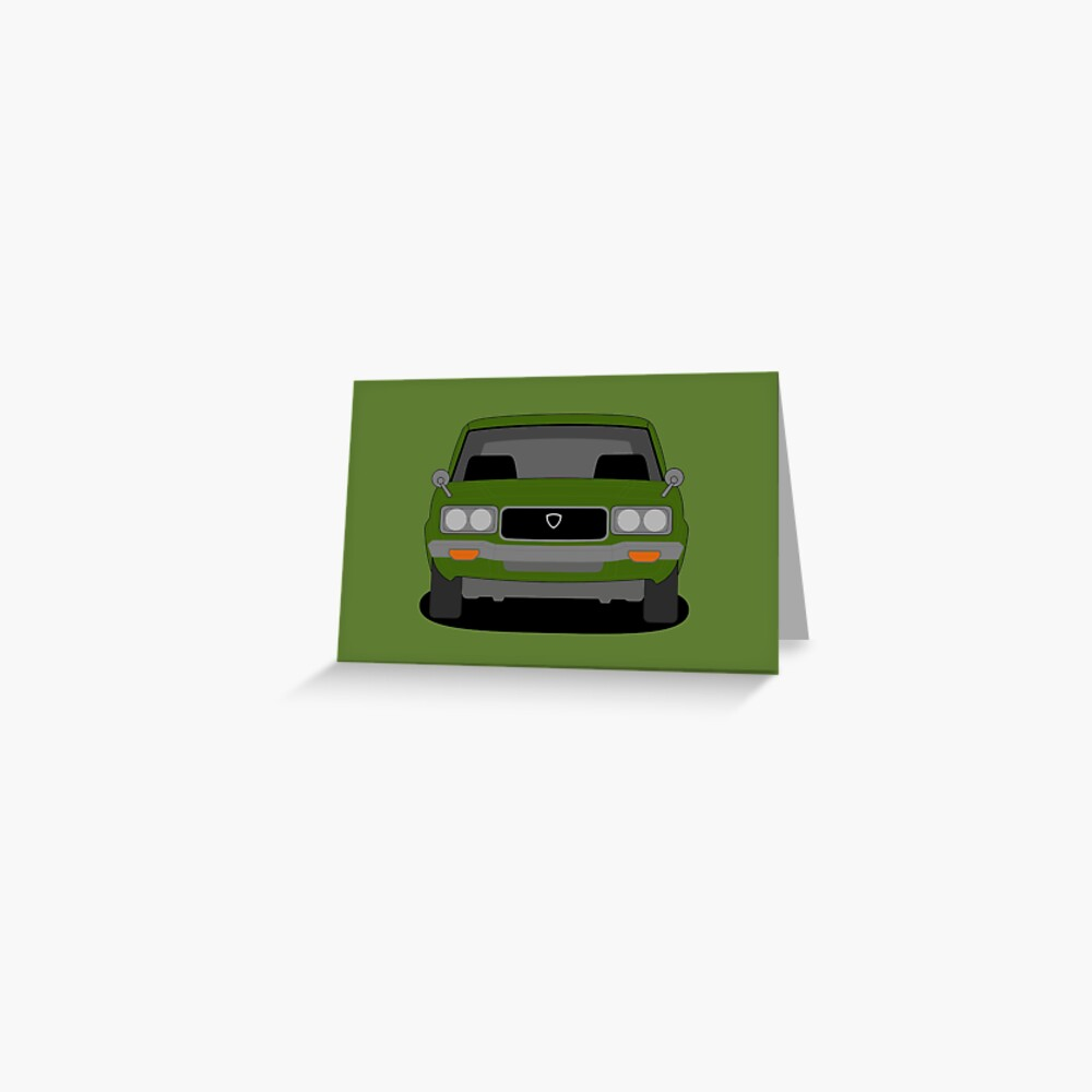 Mazda RX-3 Greeting Card