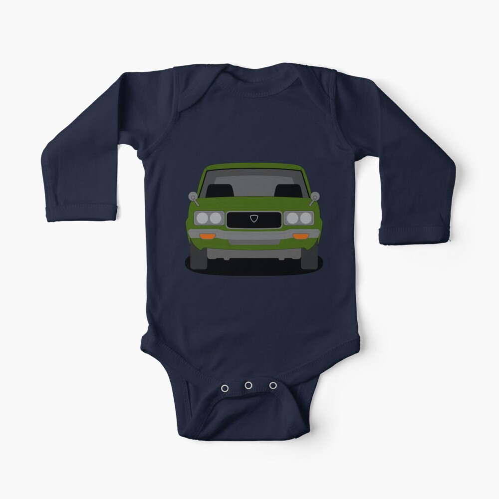 Mazda RX-3 Long Sleeve Baby One Piece