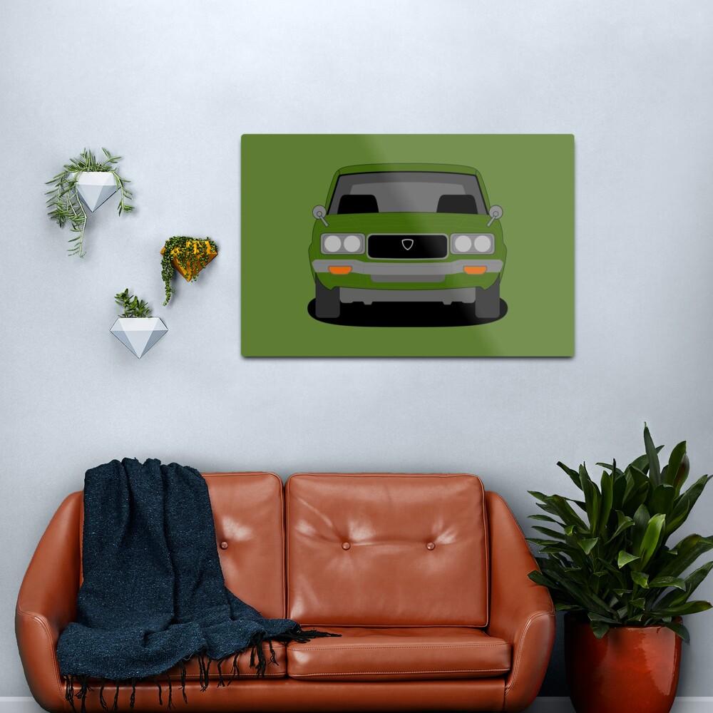Mazda RX3 Metal Print