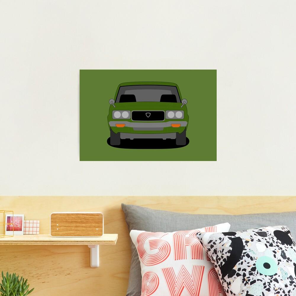 Mazda RX3 Photographic Print