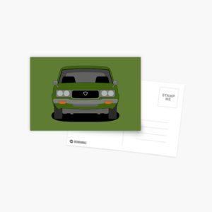 Mazda RX-3 Postcard
