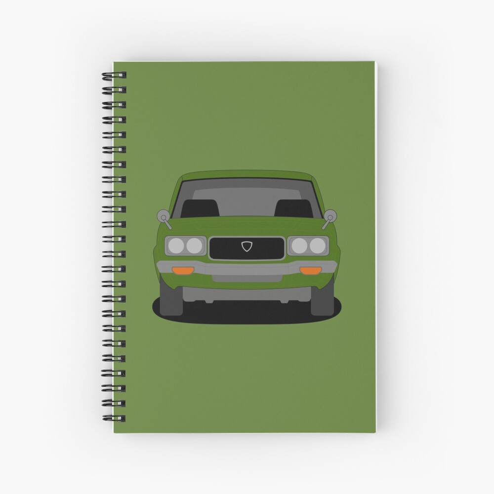 Mazda RX-3 Spiral Notebook