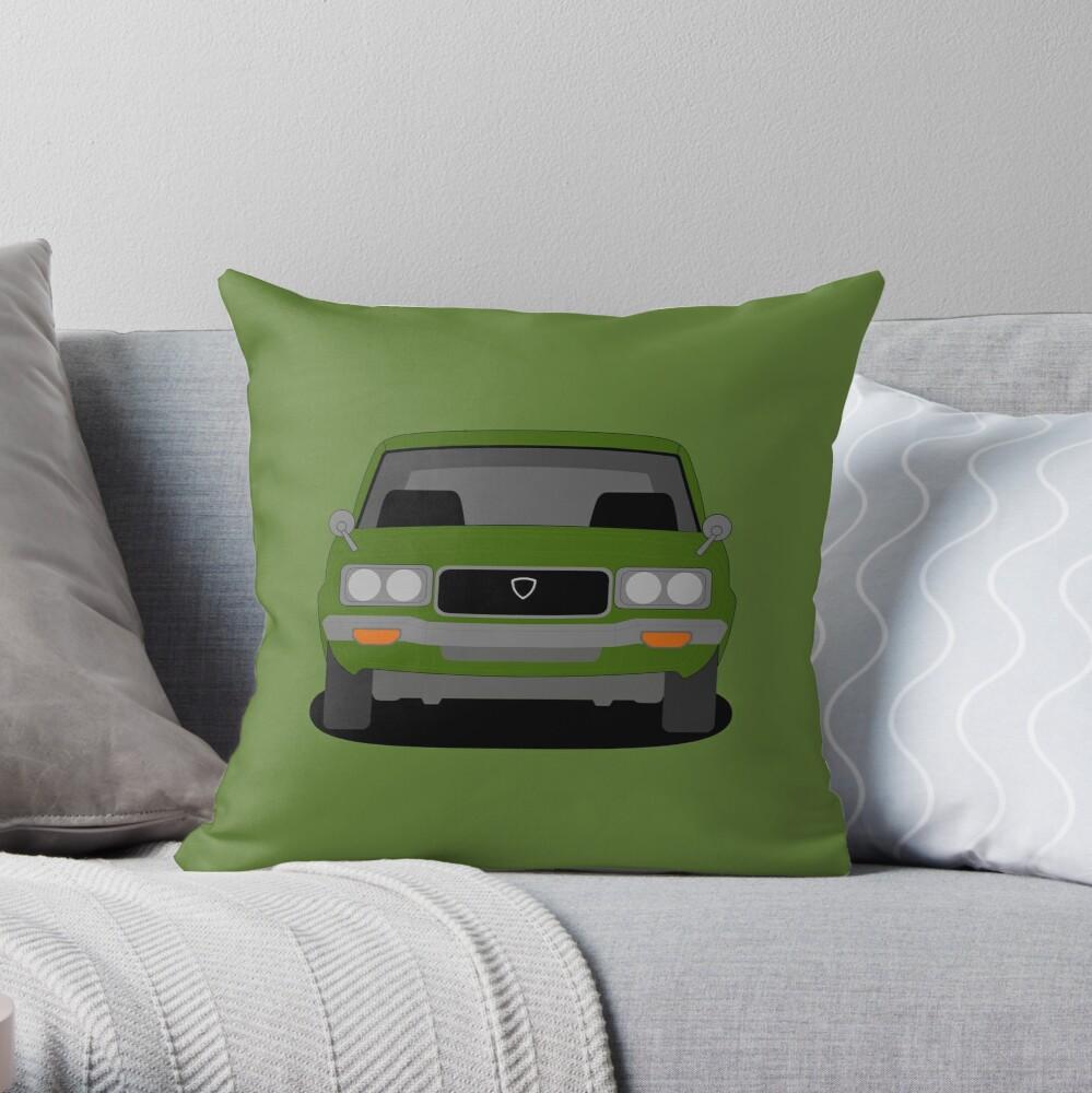 Mazda RX-3 Throw Pillow