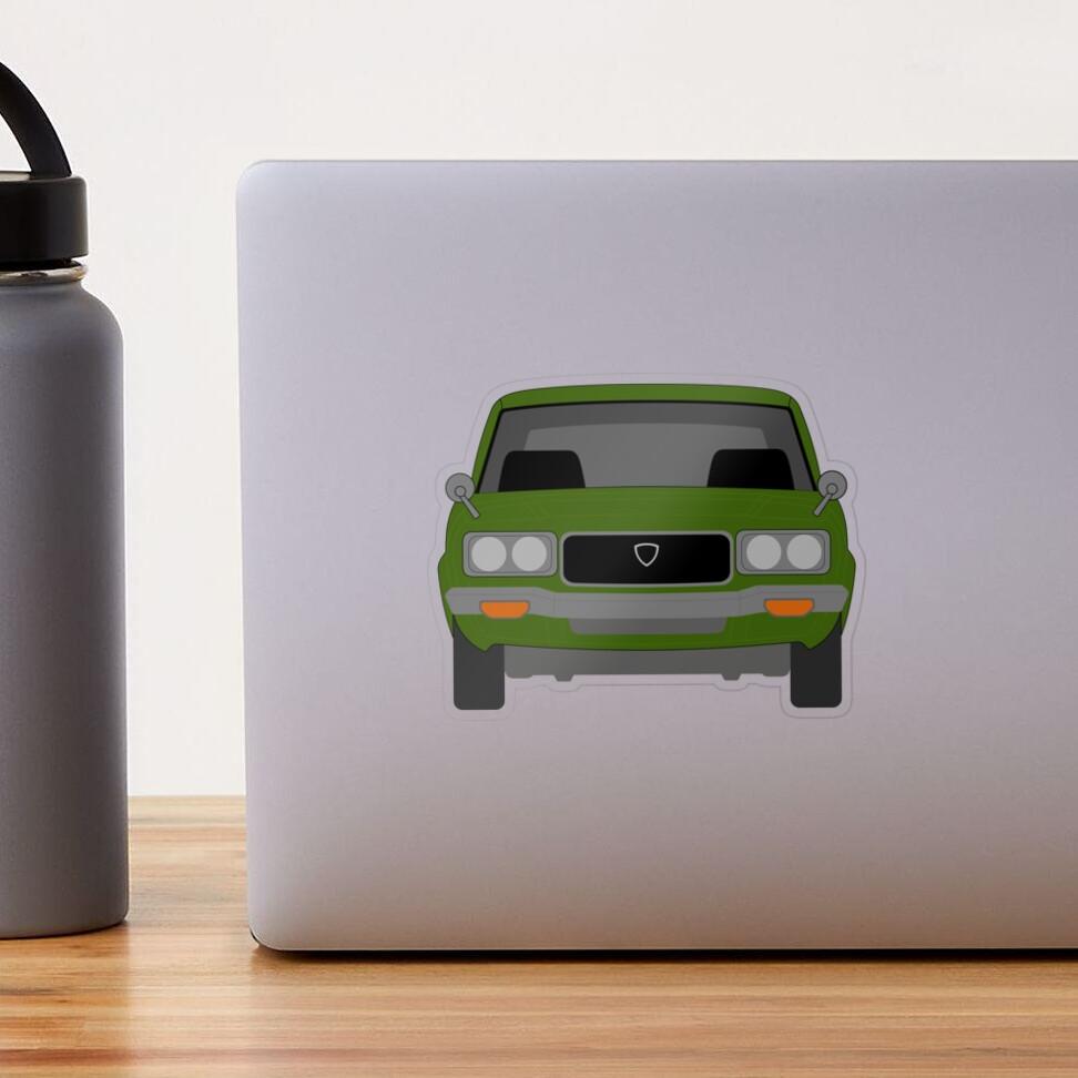 Mazda RX-3 Transparent Sticker
