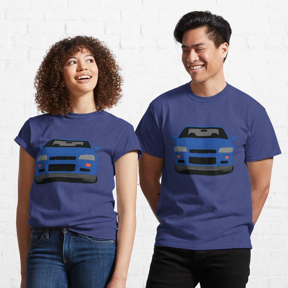 Nissan Skyline GT-R R34 Classic T-shirt