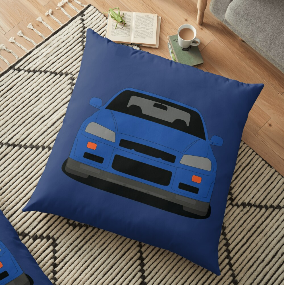 Nissan GT-R R34 Floor Pillow
