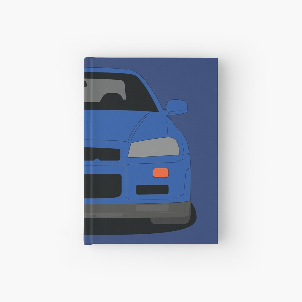Nissan Skyline GT-R R34 Hardcover Journal