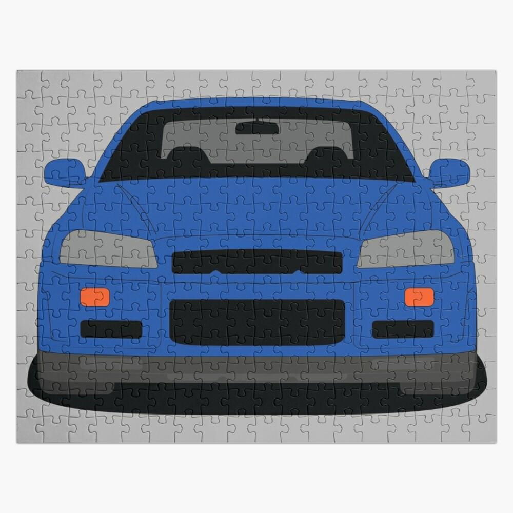 Nissan Skyline GT-R R34 Jigsaw Puzzle