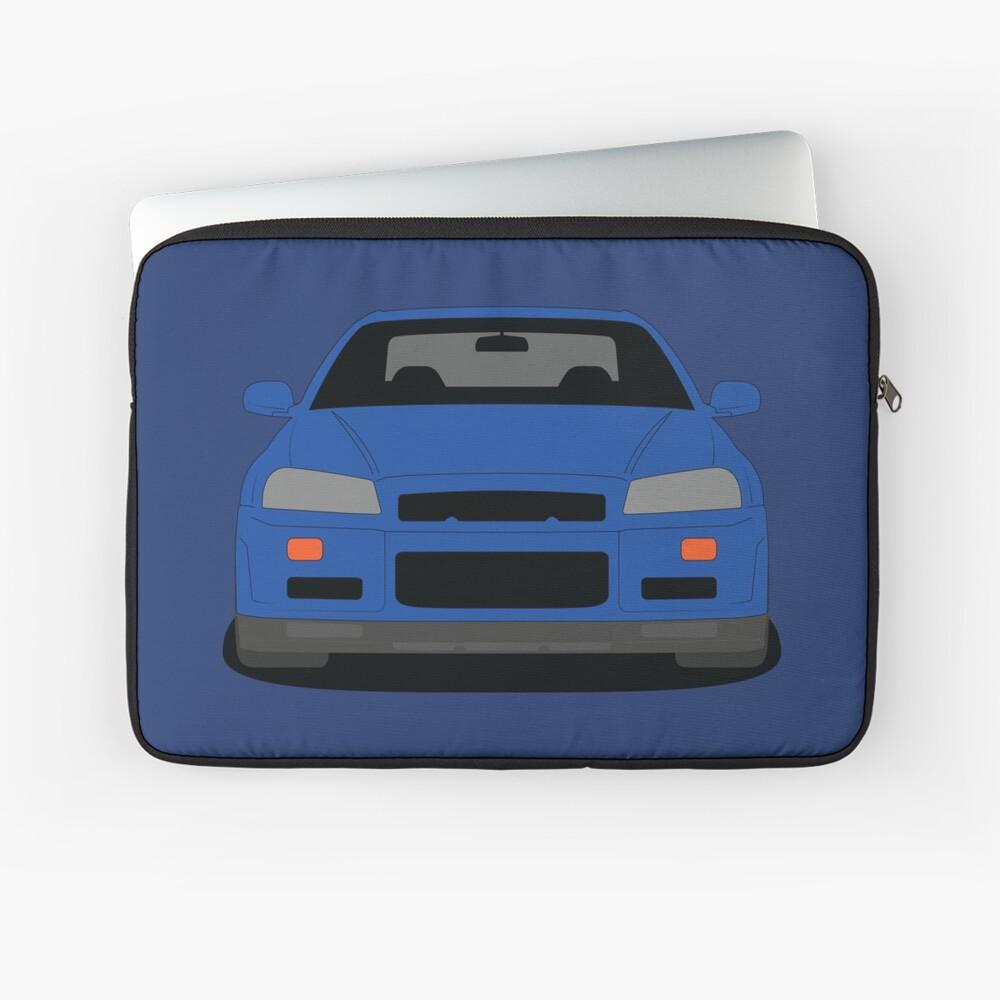 Nissan GT-R R34 Laptop Sleeve