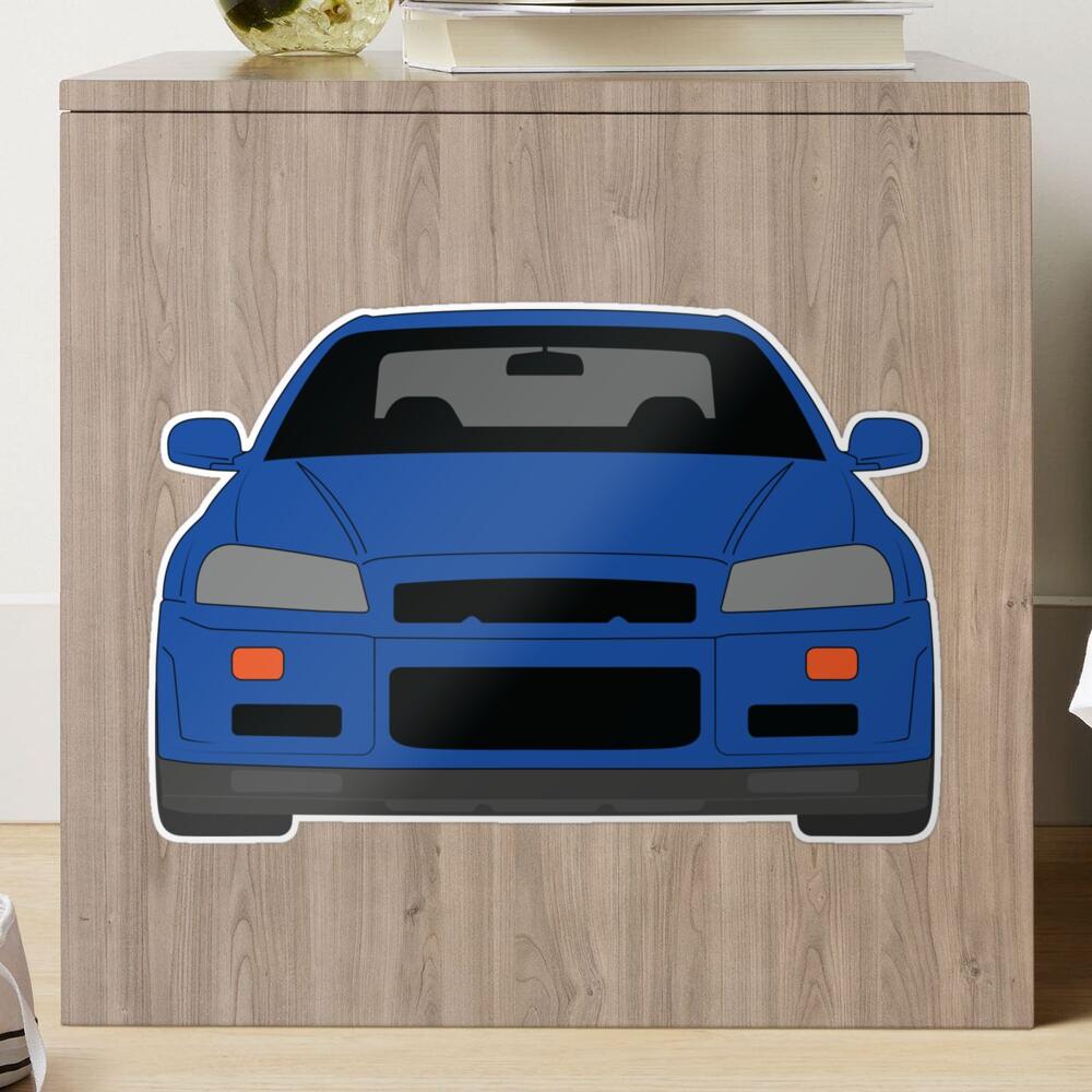 Nissan GT-R R34 Matte Sticker