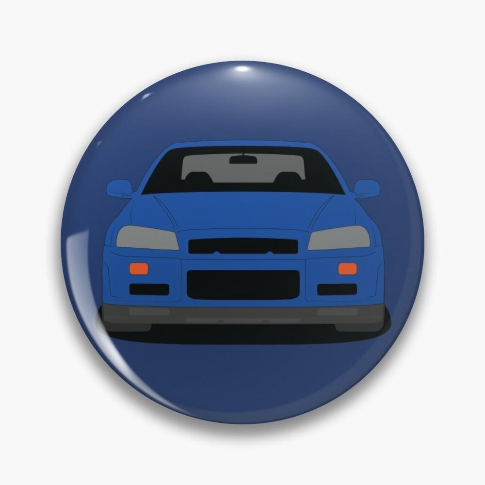 Nissan GT-R R34 Pin
