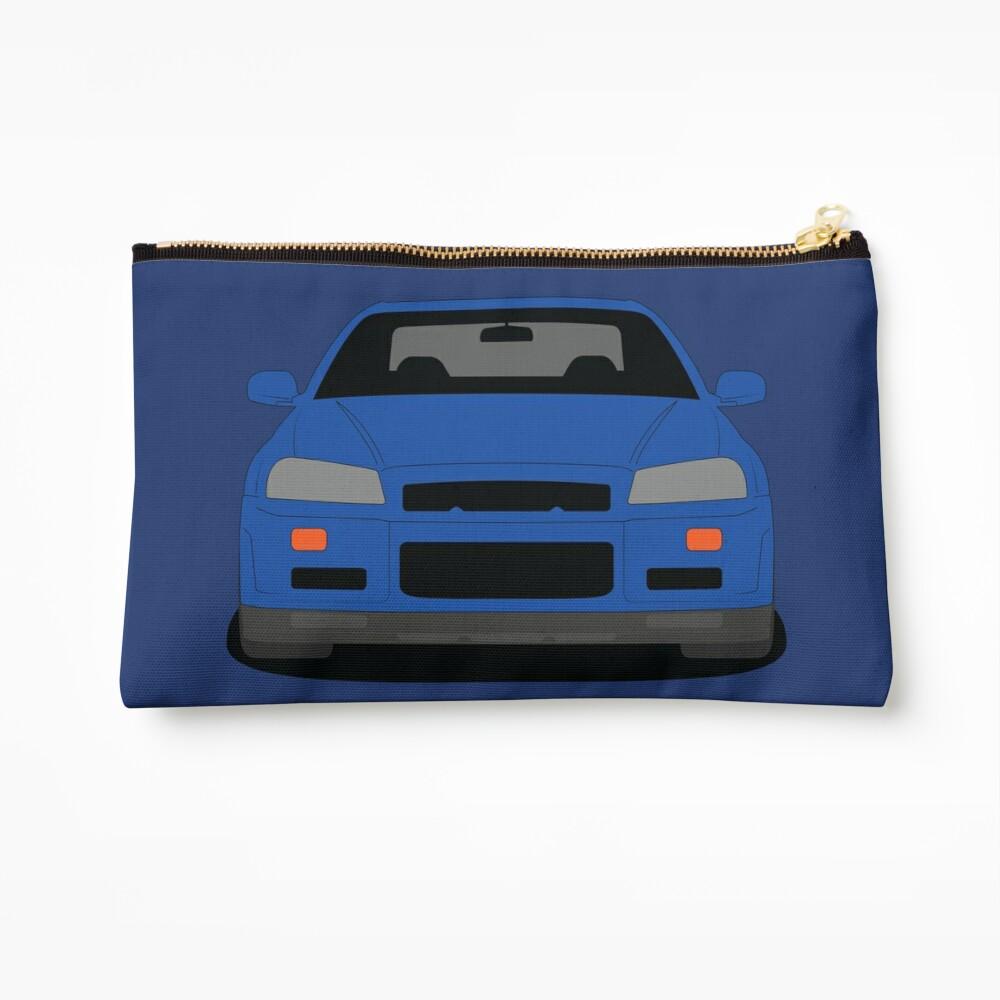 Nissan Skyline GT-R R34 Zipper Pouch