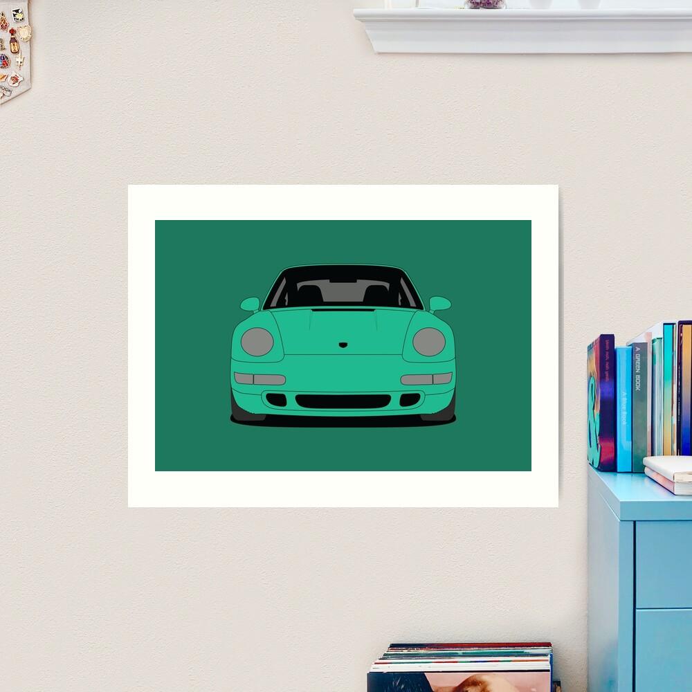 Porsche 993 Carrera S Art Print