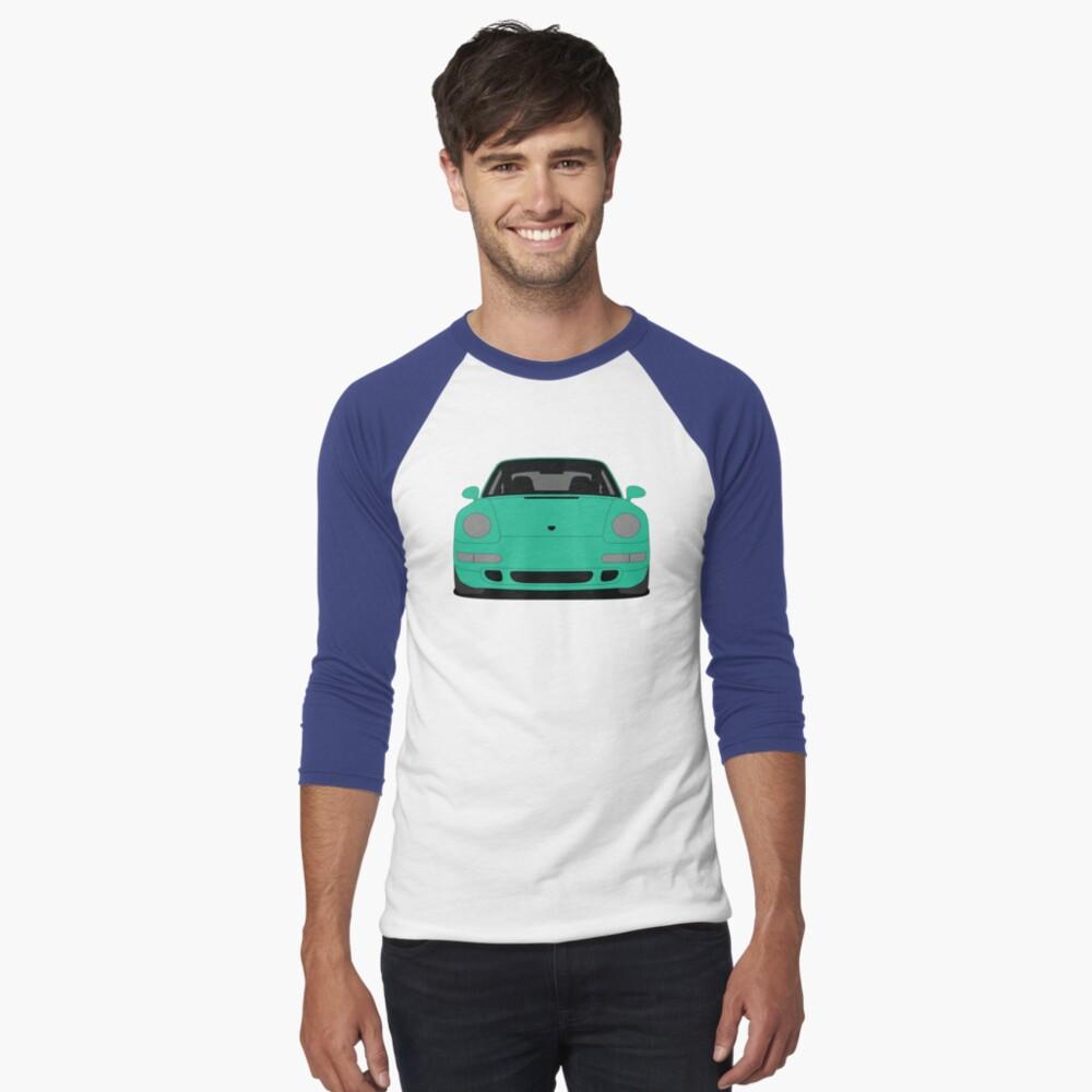 Porsche 993 Carrera S Baseball 3/4 Sleeve T-shirt