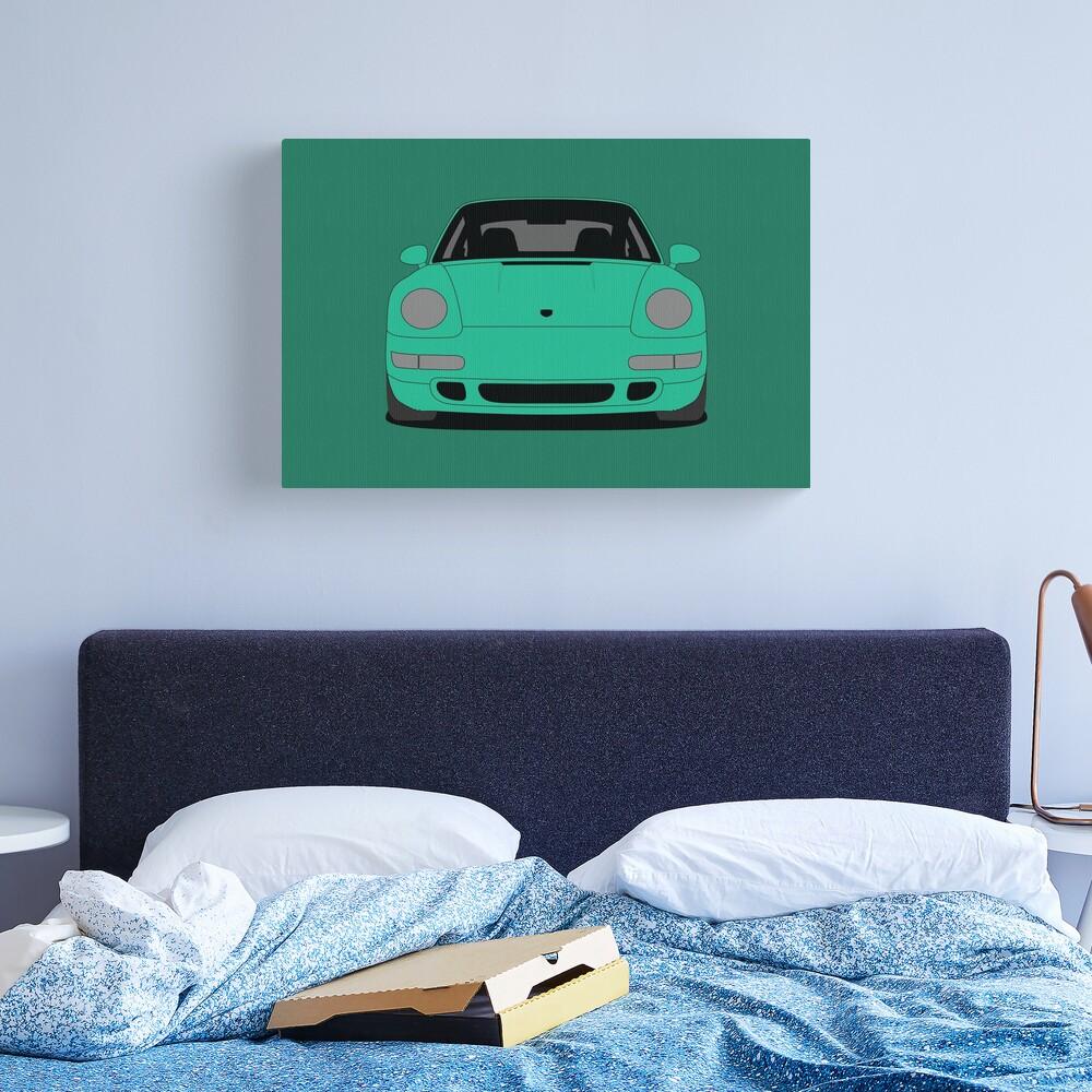 Porsche 993 Carrera S Canvas Print