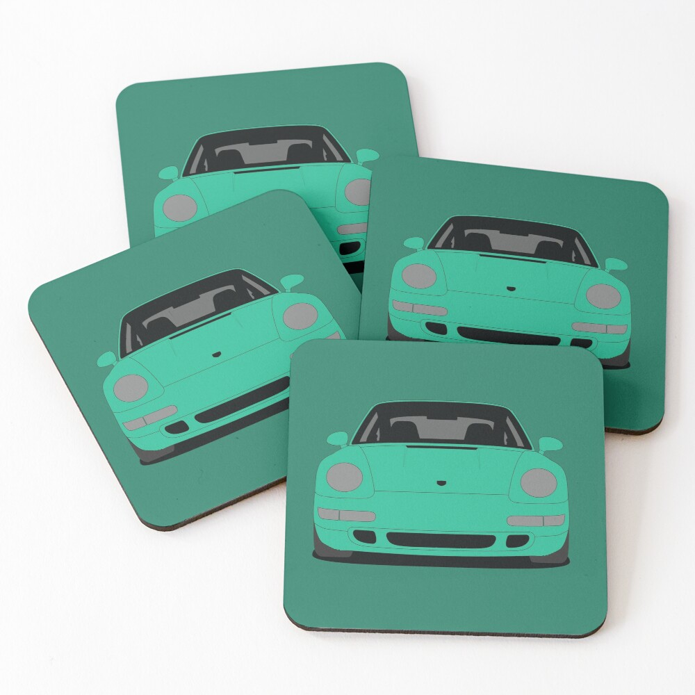 Porsche 993 Carrera S Coasters