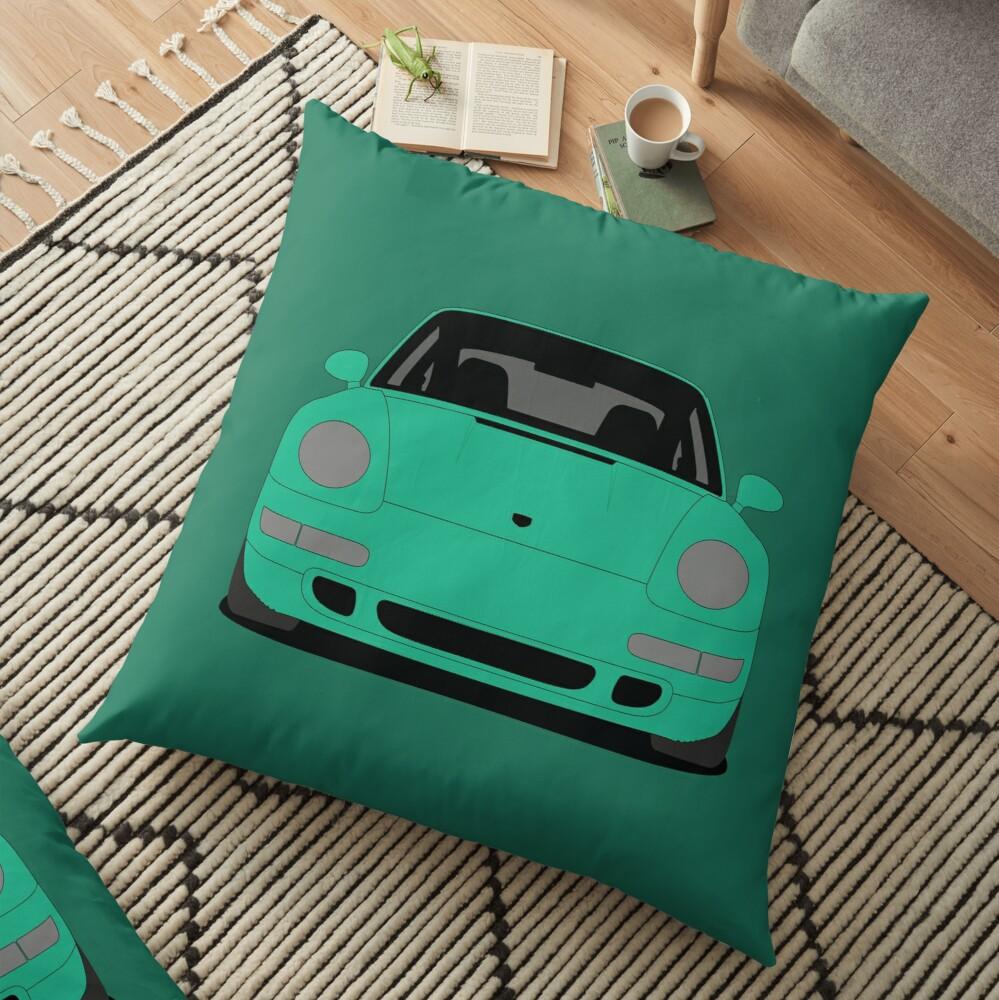 Porsche 993 Carrera S Floor Pillow