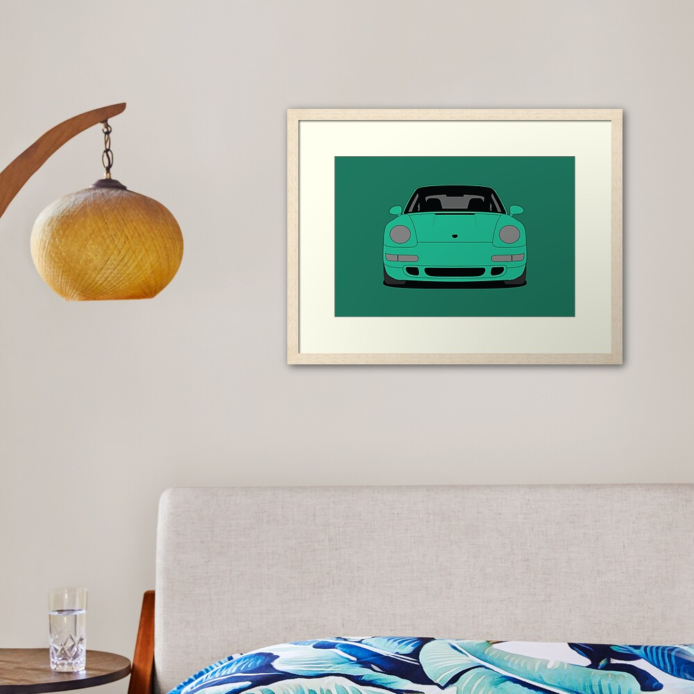 Porsche 993 Carrera S Framed Art Print