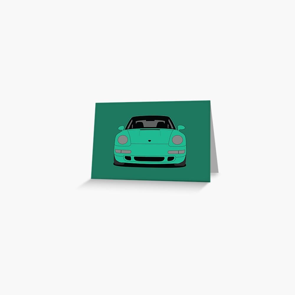Porsche 993 Carrera S Greeting Card