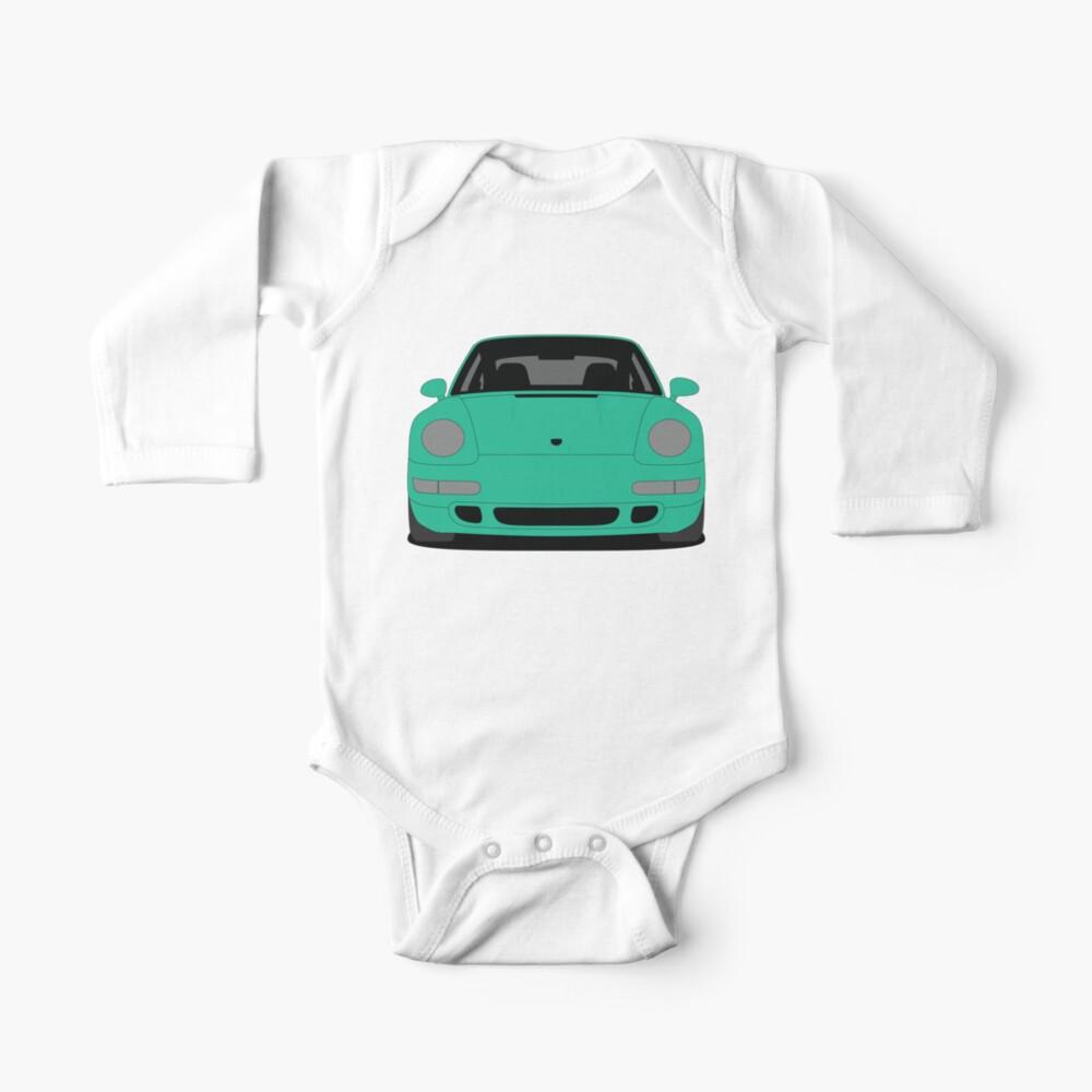 Porsche 993 Carrera S Long Sleeve Baby's One Piece