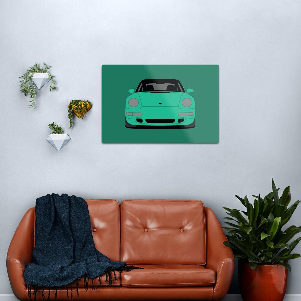 Porsche 993 Carrera S Metal Print