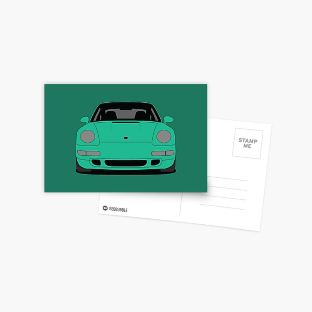 Porsche 993 Carrera S Postcard