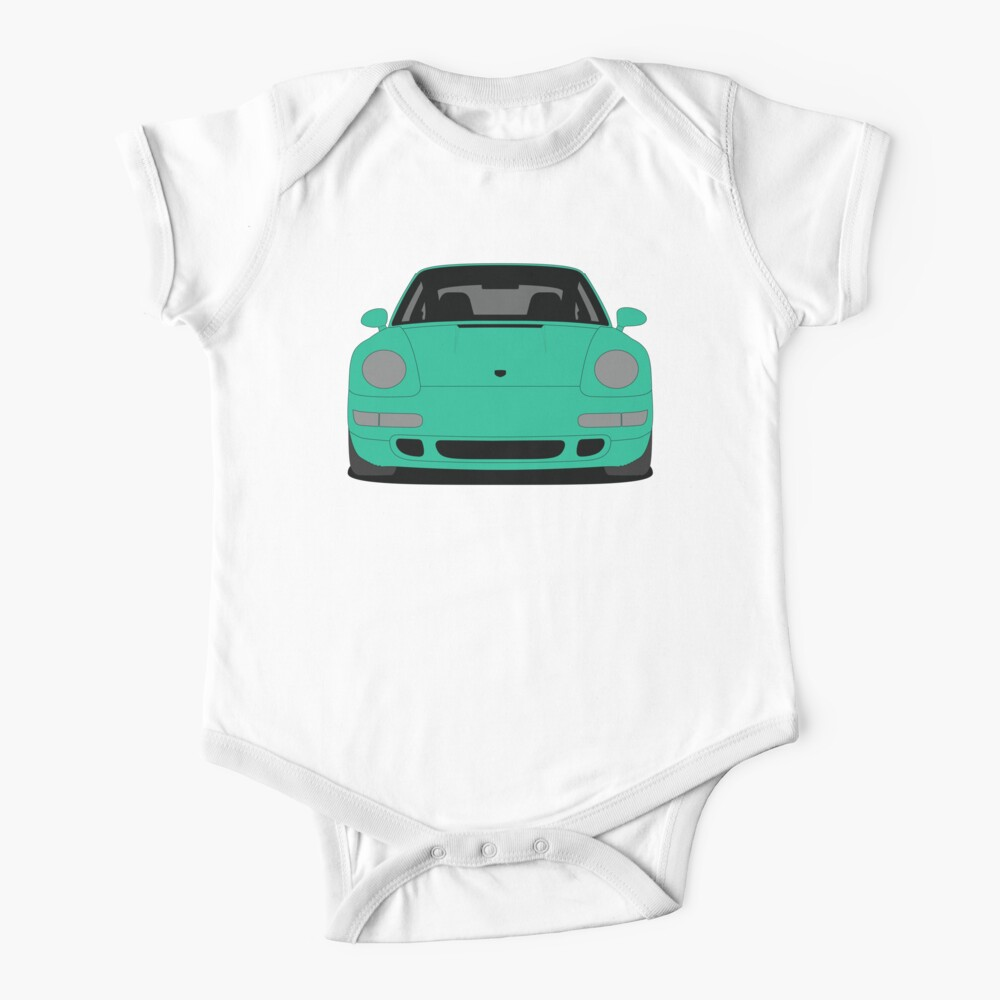 Porsche 993 Carrera S Short Sleeve Baby's One Piece